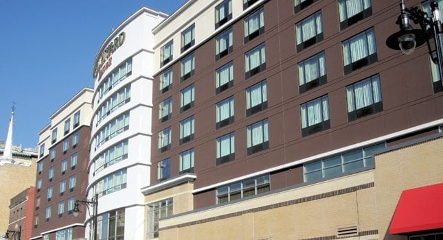 The Courtyard by Marriott Hotel – opened in 2012 behind the Prudential Center on Broad Street – was the first new hotel in Newark in 40 years.