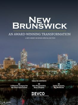 how to fly to new brunswick new jersey