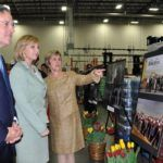 Lt. Governor Kim Guadagno attends the ribbon cutting for Wakefern Food Corps.' new 524,000-square-foot food distribution facility in Elizabeth.