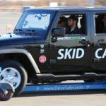 Drive Safer's SKIDCAR can be used to simulate various types of driving conditions like ice, snow and wet pavement.