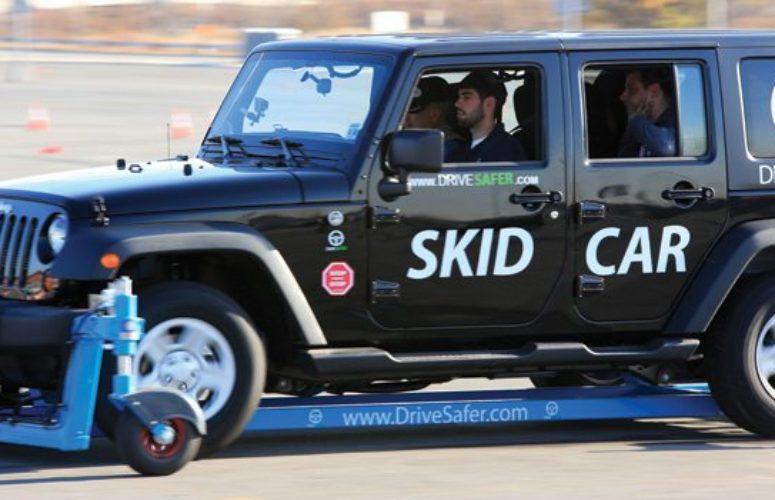 Skid car