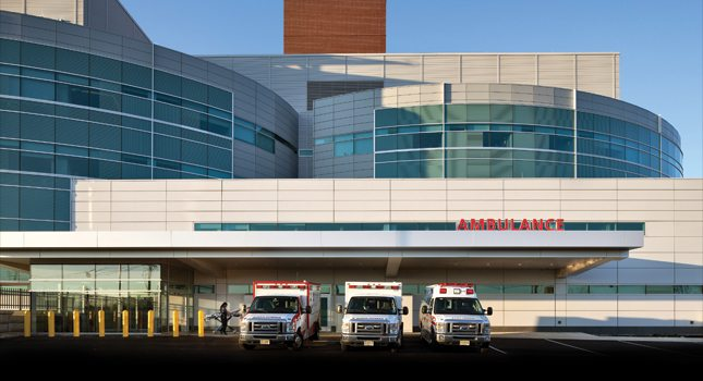 St. Joseph's Healthcare System's major $250 million facilities renovation and expansion project includes the new ultramodern Critical Care Building with pediatric, adult and geriatric emergency departments, multiple critical care floors, operating suites and a roof-top helipad.