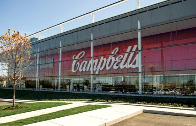 Campbell's world headquarters in Camden.