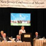 Lt. Governor Kim Guadagno speaks at the New Jersey Conference of Mayors Luncheon.