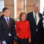 Thomas Kean (second from right) with Lt. Governor  Kim Guadagno (far right).