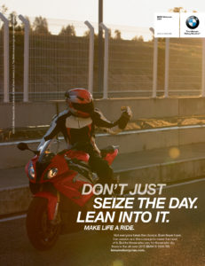 S3 Agency - BMW Motorcyle Ad