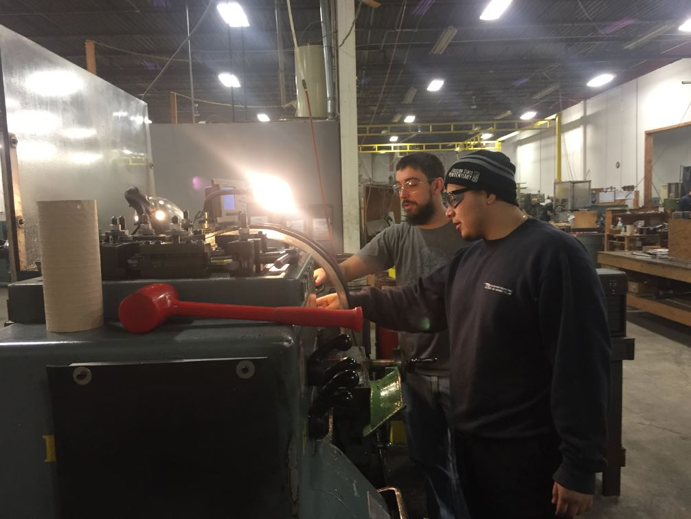 Machinists at Convertech in Wharton, NJ