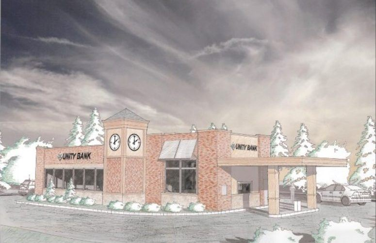 Unity Bank rendering