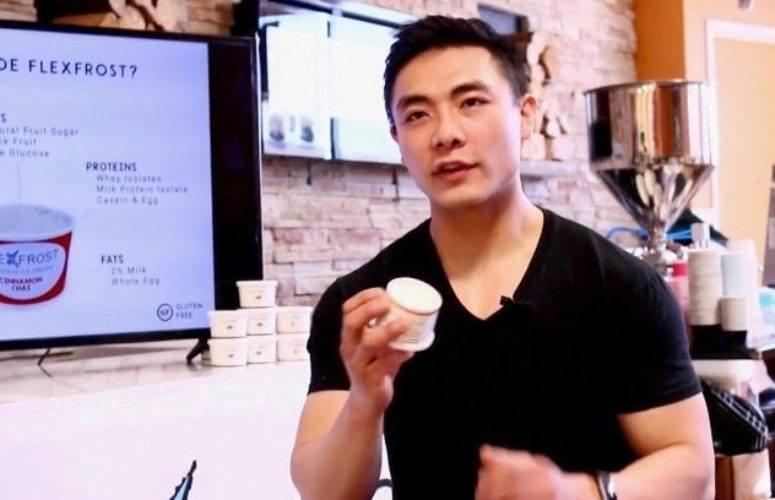 Yang Bai of Flex Frost Ice Cream