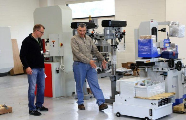 MCCC's Advanced Manufacturing Lab Gets Big Equipment Delivery - New