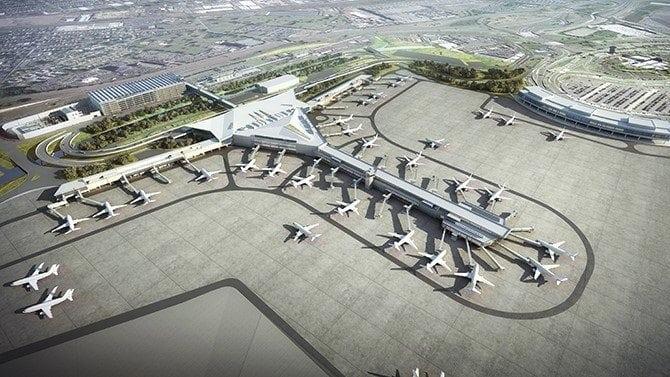 Tutor Perini Announces 1 41 Billion Newark Airport
