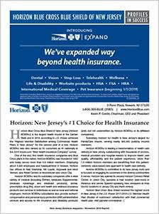Horizon Blue Cross Blue Shield of New Jersey - New Jersey Business