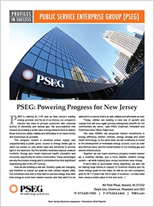 Public Service Enterprise Group (PSEG) - New Jersey Business Magazine
