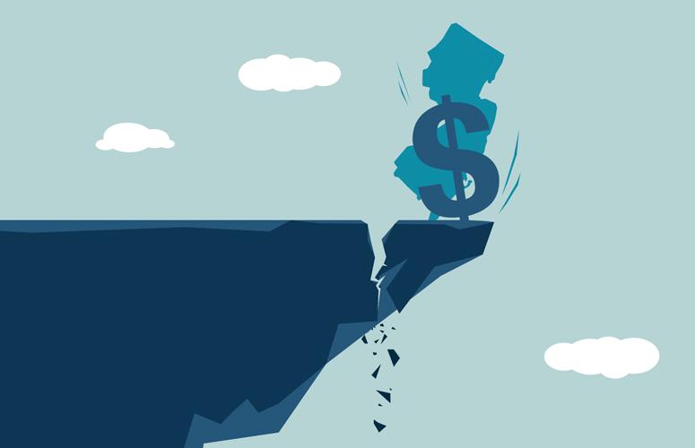 financial cliff