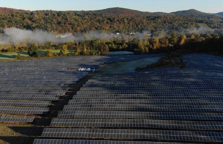 Crystal Springs Resort solar farm