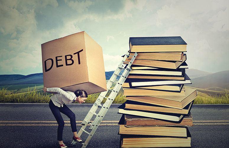 Student Loan Debt Diagram