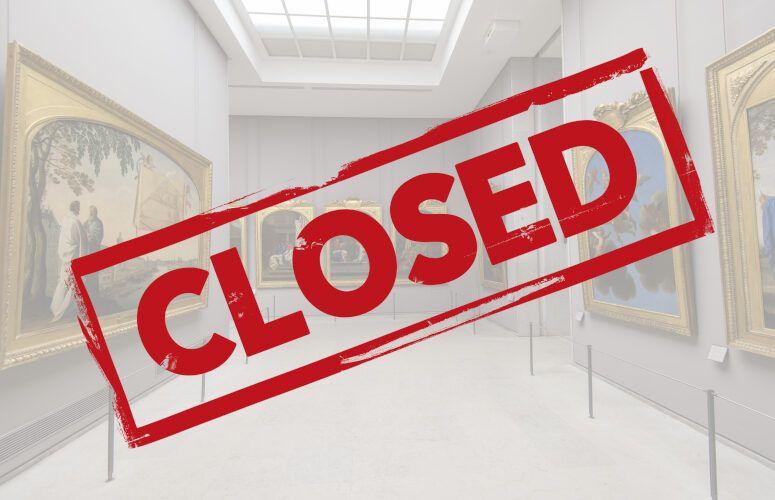 closed museum