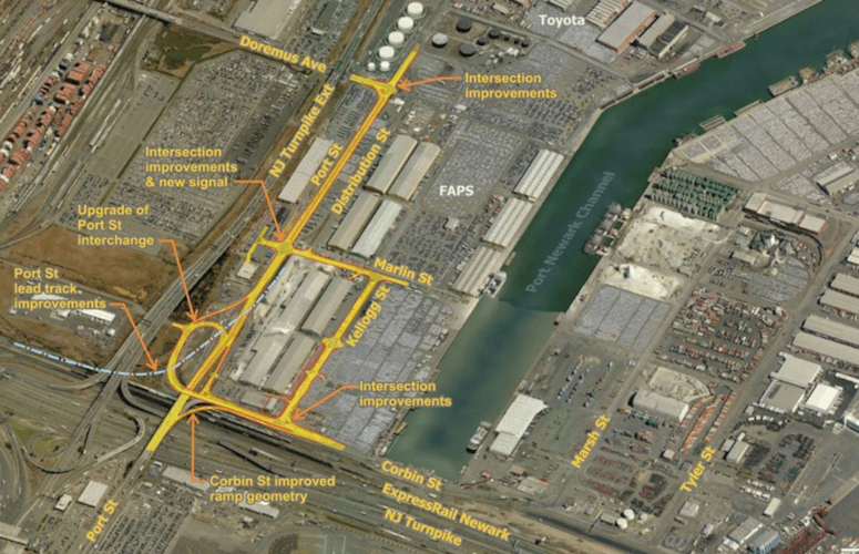 Port Newark and EPAMT
