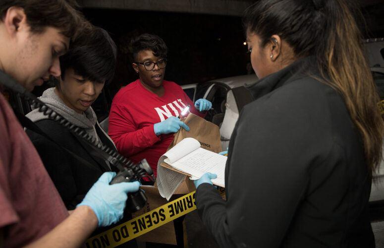 NJIT forensic science