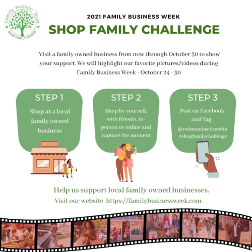 family business week challenge